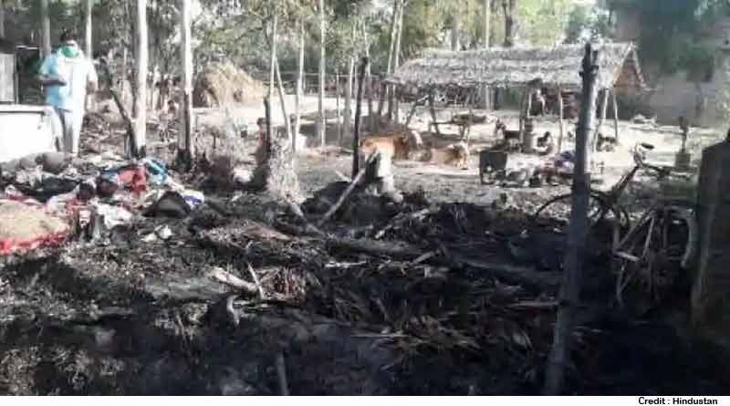 Ayodhya Dalit Basti Fire