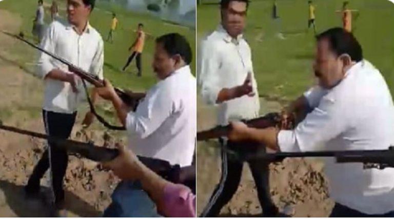 संभल : दलित नेता और उनके बेटे के डबल मर्डर केस में यूपी पुलिस ने की यह बड़ी कार्रवाई