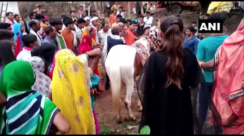 Madhya Pradesh: Dalit groom allegedly stopped by Yadavs from riding horse in Satai Chhatarpur