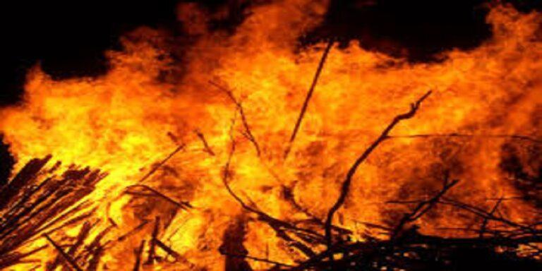 दबंगों ने महिला को जिंदा जलाया, मौत से पहले बताए आरोपियों के नाम, फिर भी पुलिस दर्ज नहीं कर रही केस