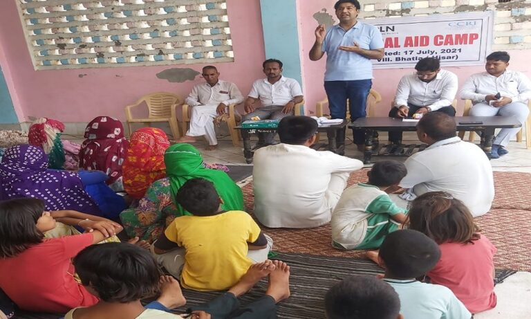 Human Rights Law Network organise awareness camp on SC ST Act Haryana Bhatla