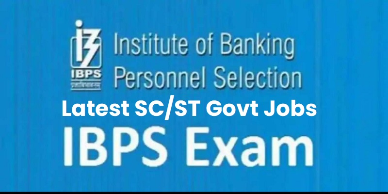 SC ST Govt Jobs IBPS Recruitment 2021 Apply For Clerk Jobs Vacancy
