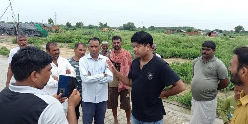 Advocate Rajat Kalasn Mirchpur Kand victims Water entered into Valmiki community tents