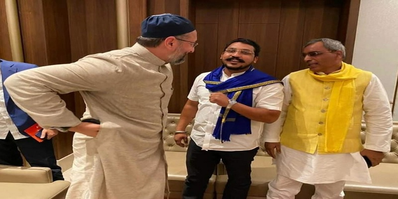 Asaduddin Owaisi said we are not alone will fight UP elections 2022 together