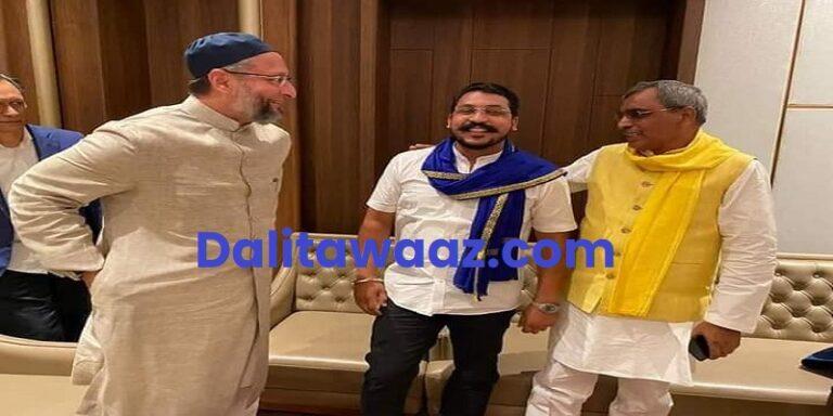 Exclusive BHIM Army ASP Chandrashekhar Azad AIMIM Asaduddin Owaisi can fight together UP Assembly elections 2022